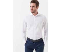 Jersey-Hemd Laze in Weiß