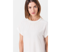 Elegantes Shirt in Creme-Weiß