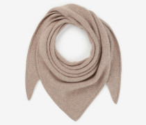 Strick-Stola in Taupe
