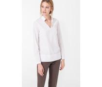 Schlupf-Bluse in Weiß