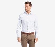 Twill-Hemd Torri in Weiß