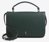 Handtasche in Dunkelgrün