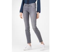 Skinny Jeans Poppy in Hellgrau