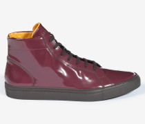 Halbhoher Sneaker Tramp in Bordeaux