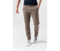 Cropped Chino Luino in Beige