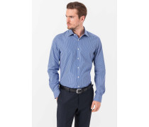 Gestreiftes Hemd Torri in Blau/Weiß