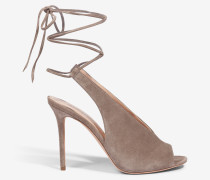 Schnür-Pumps by Unützer in Taupe