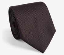 Krawatte in Dunkelgrau
