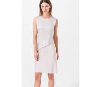 Etui-Kleid in Hellbeige