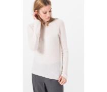 Kaschmir-Pullover in Creme