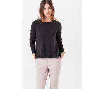 Kaschmir-Pullover in Grau