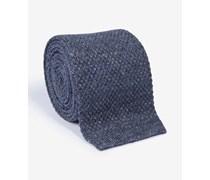 Strick-Krawatte in Blau