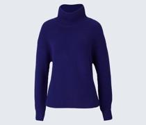 Merino-Pullover in Lila