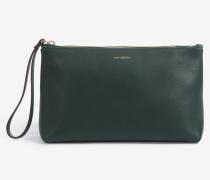 Wristbag in Dunkelgrün