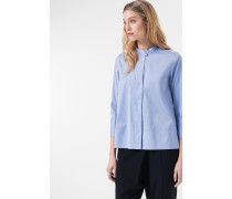 Oversized Bluse in Hellblau