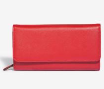 Geldbörse in Rot