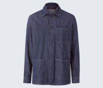 Jeans-Overshirt Olano in Dunkelblau