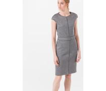 Etui-Kleid in Grau