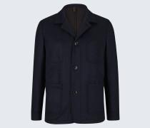 Double-Jersey-Work-Wear-Jacket Ariano in Navy