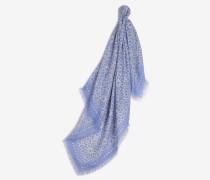 Leichter Schal in Pastell-Blau