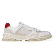 Diamond X Trainer/m Sneaker aus Kalbsleder in Baumwollfarben Mix, Crosta-Wildleder und Nylon mit Print
