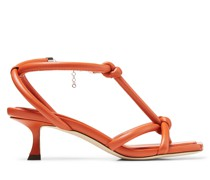 Fort 50 Sandaletten aus Nappaleder in gebranntem Orange