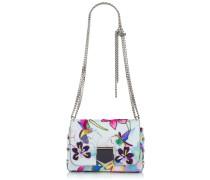 Lockett Petite Handtasche aus Stoffgewebe mit Kolibri-Print