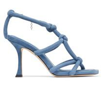 BAY 90 Sandaletten aus Wildleder in Schmetterlingsblau