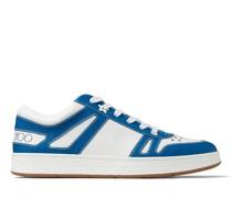Hawaii/m Sneaker aus Vachetteleder in Weiß und olympischem Blau
