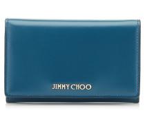 Marlie Brieftasche aus mitternachtsblauem Spazzolato-Leder