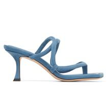Cape 70 Sandaletten aus Wildleder in Schmetterlingsblau