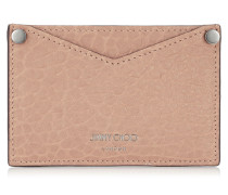 Liza Ballet Pink Grainy Leather Card Wallet