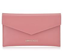 Cadie Brieftasche aus rosanem Spazzolato-Leder