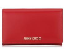 Marlie Brieftasche aus rotem Spazzolato-Leder