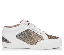 Miami Sneaker aus Wildleder mit Glitzer-Dégradé
