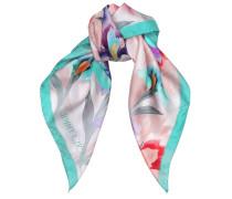 ARI H66022770 Schal aus Seide mit Print in Nude