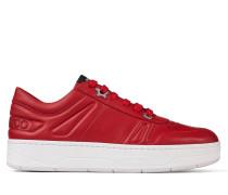 Hawaii/f Sneaker aus rotem Kalbsleder