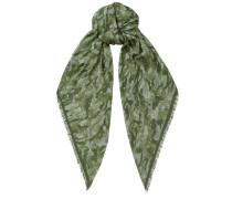Egle H6S073030 Halstuch mit militärsgrünem Print