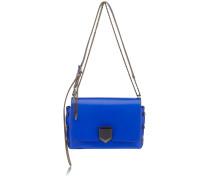 Lockett City Handtasche aus kobaltblauem Spazzolato-Leder