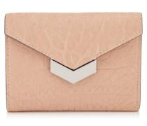 Leonie Portemonnaie aus rosanem genarbtem Leder