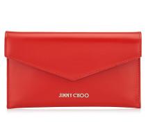 Cadie Brieftasche aus rotem Spazzolato-Leder
