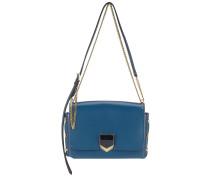 Lockett City Handtasche aus mitternachtsblauem Spazzolato-Leder