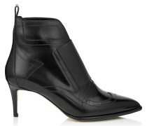 Mazzy 65 Stiefeletten aus schwarzem glänzendem Leder