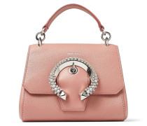 Madeline Tophandle/s Handtasche aus Kalbs-und Ziegenleder in Rosé mit Tragegriff