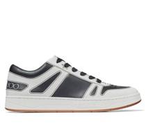 Hawaii/m Sneaker aus schwarz-weißem Vachetteleder