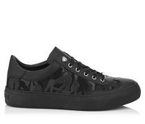 ACE Sneaker aus schwarzem Gewebe mit Tarnmuster