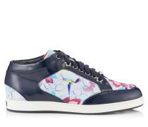 Miami Low-Top-Sneaker aus Gewebe mit Kolibri-Print