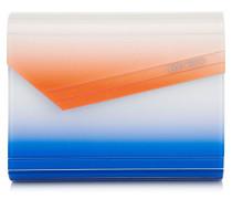 Candy Clutch aus Kobaltblauem Acryl mit Dégradé