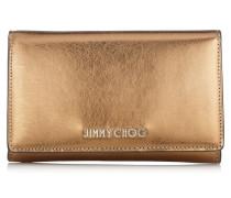Marlie Brieftasche aus honiggoldenem Spazzolato-Leder