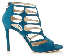 REN 100 Sandalen aus mitternachtsblauem Wildleder